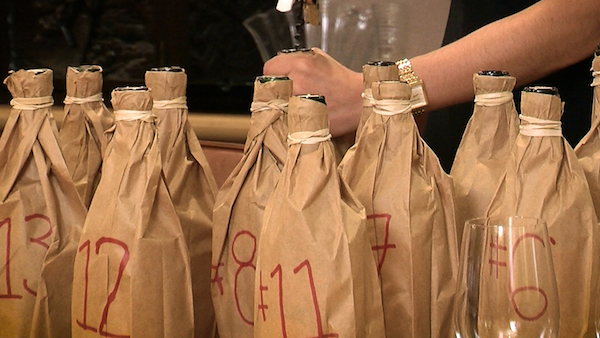 A wine in bag